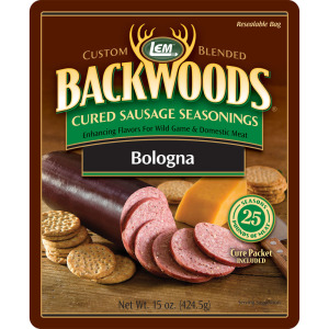 Backwoods Bologna Cured Sausage Seasoning - Makes 25 lbs.