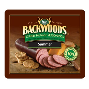 Backwoods Summer Sausage Cured Sausage Seasoning - Makes 100 lbs.