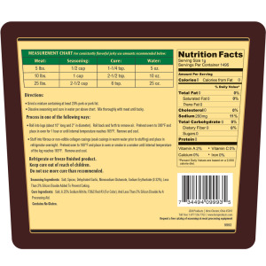 Backwoods Trail Bologna Cured Sausage Seasoning - Makes 100 lbs. - Directions & Nutritional Info