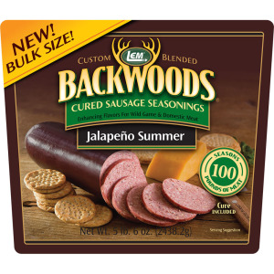 Backwoods Jalapeno Summer Cured Sausage Seasoning - Makes 100 lbs.