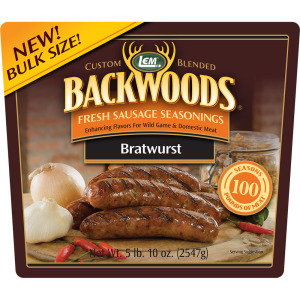 Backwoods Bratwurst Fresh Sausage Seasoning - Makes 100 lbs.