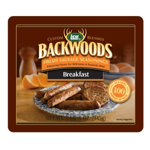Backwoods Breakfast Fresh Sausage Seasoning - Makes 100 lbs.