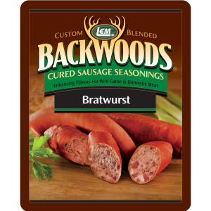 Backwoods Bratwurst Cured Sausage Seasoning - Backwoods Bratwurst Seasoning Makes 5 lbs.