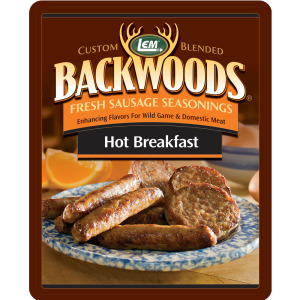 Backwoods Hot Breakfast Fresh Sausage Seasoning