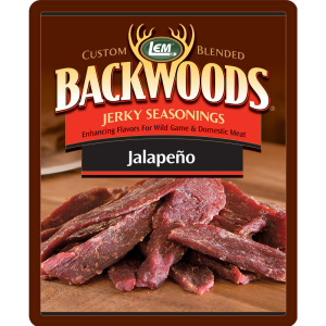 Backwoods Jalapeno Jerky Seasoning - Backwoods Jalapeno Makes 25 lbs.