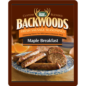 Backwoods Maple Breakfast Fresh Sausage Seasoning - Backwoods Maple Breakfast Seasoning Makes 25 lbs.