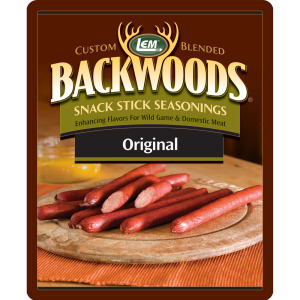 Backwoods Original Snack Stick Seasoning - Backwoods Snack Stick Seasoning Bucket Makes 100 lbs. - BEST VALUE!