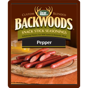 Backwoods Pepper Snack Stick Seasoning - Backwoods Pepper Stick Seasoning Makes 5 lbs.