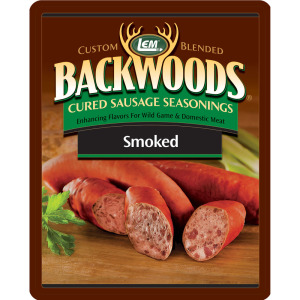 Backwoods Smoked Sausage Cured Sausage Seasoning - Backwoods Smoked Sausage Seasoning Makes 5 lbs.
