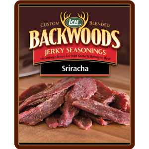 Backwoods Sriracha Jerky Seasoning - Backwoods Sriracha Makes 25 lbs.