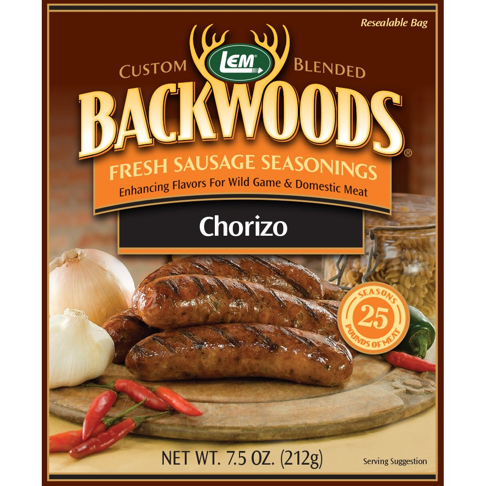 Backwoods Chorizo Fresh Sausage Seasoning - Makes 25 lbs.