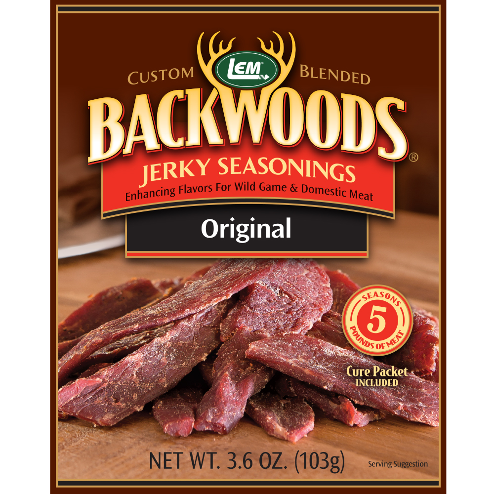 Included Original Jerky Seasoning