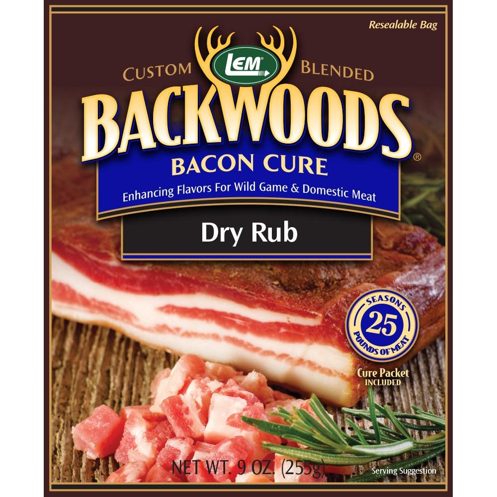 Backwoods Bacon Cure Dry Rub