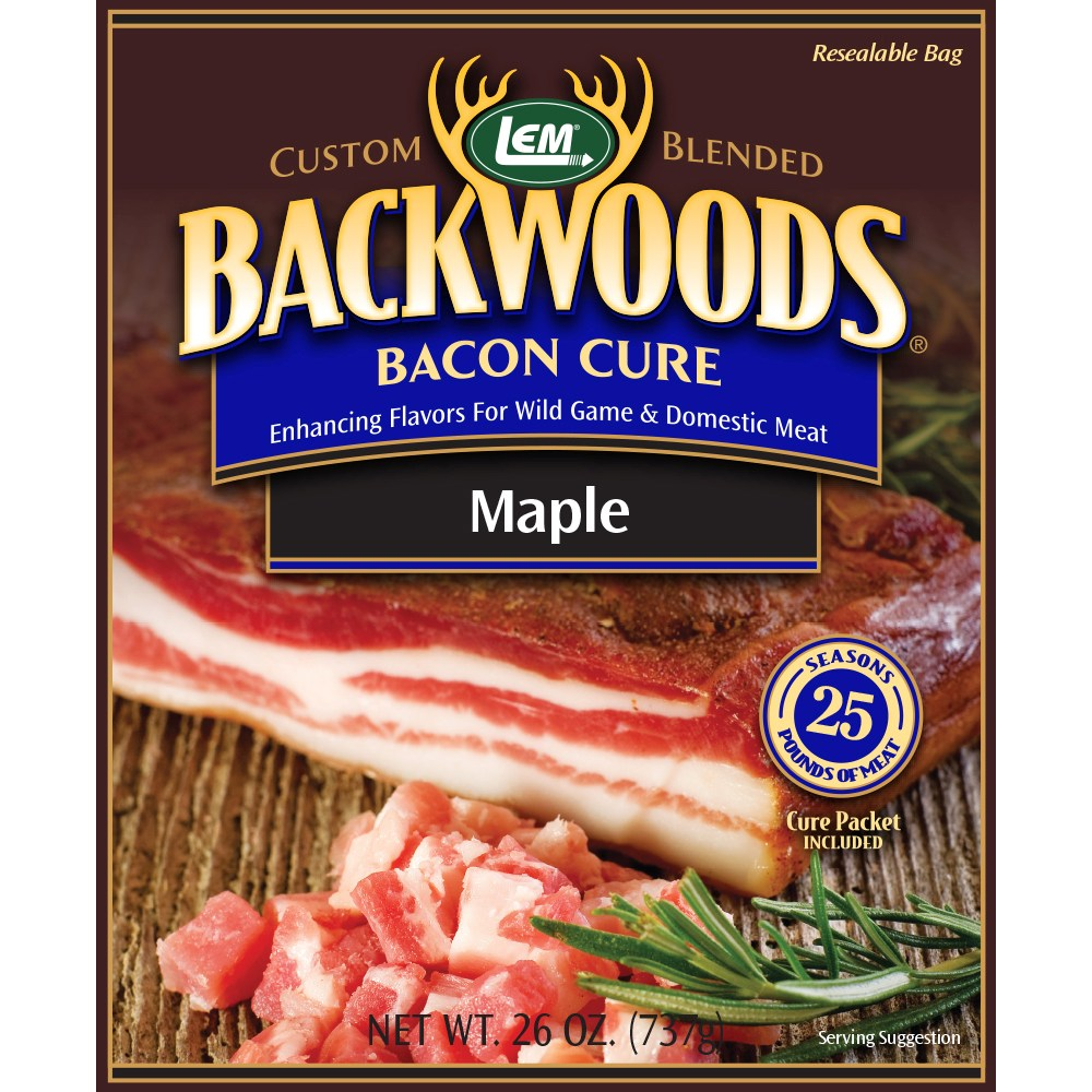 Backwoods Maple Bacon Cure