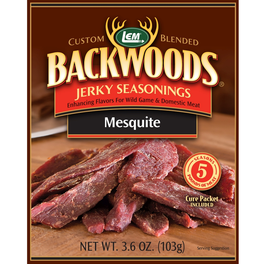 Backwoods Mesquite Jerky Seasoning - Makes 5 lbs.
