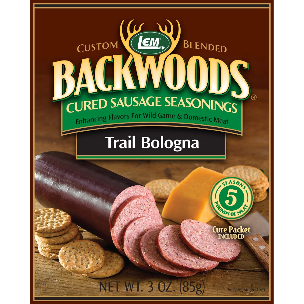 Backwoods Trail Bologna Cured Sausage Seasoning - Backwoods Trail Bologna Seasoning Bucket Makes 100 lbs. - BEST VALUE!
