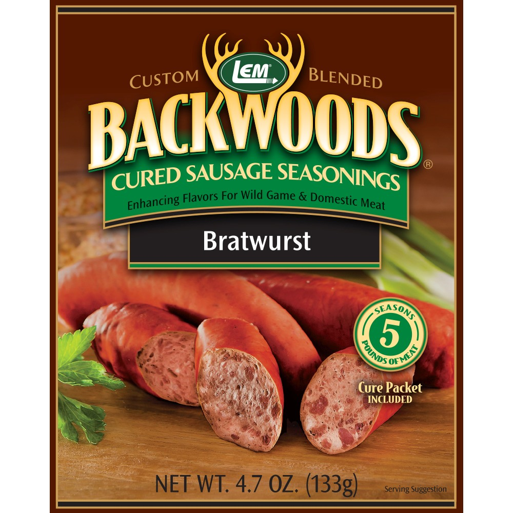 Backwoods Bratwurst Cured Sausage Seasoning
