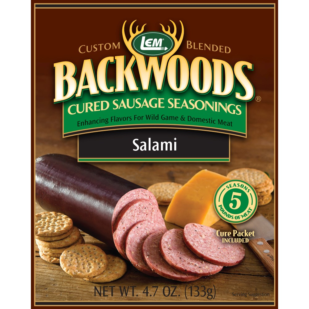 Backwoods Salami Cured Sausage Seasoning - Backwoods Salami Seasoning Makes 5 lbs.