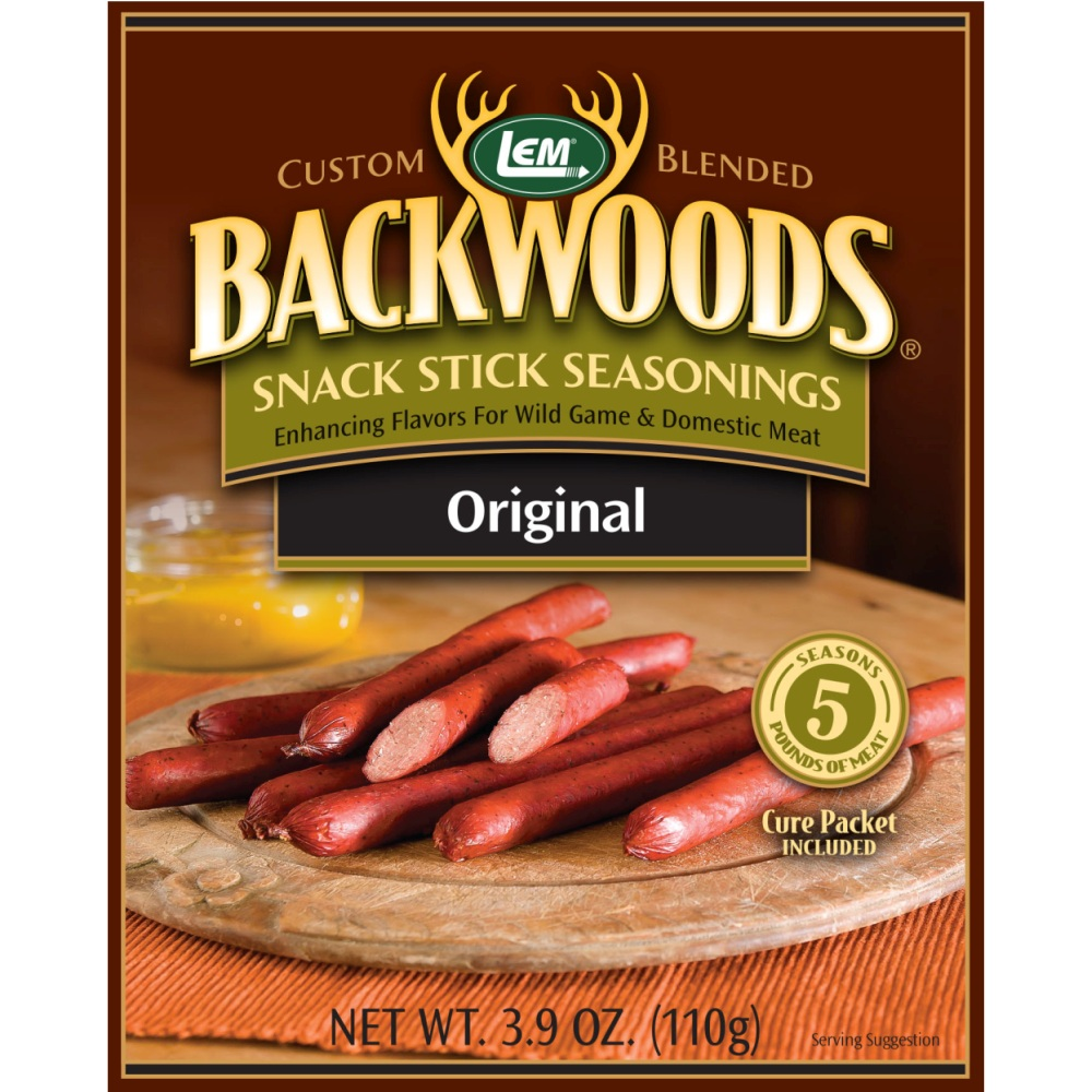 Backwoods Original Snack Stick Seasoning - Backwoods Snack Stick Seasoning Makes 5 lbs.