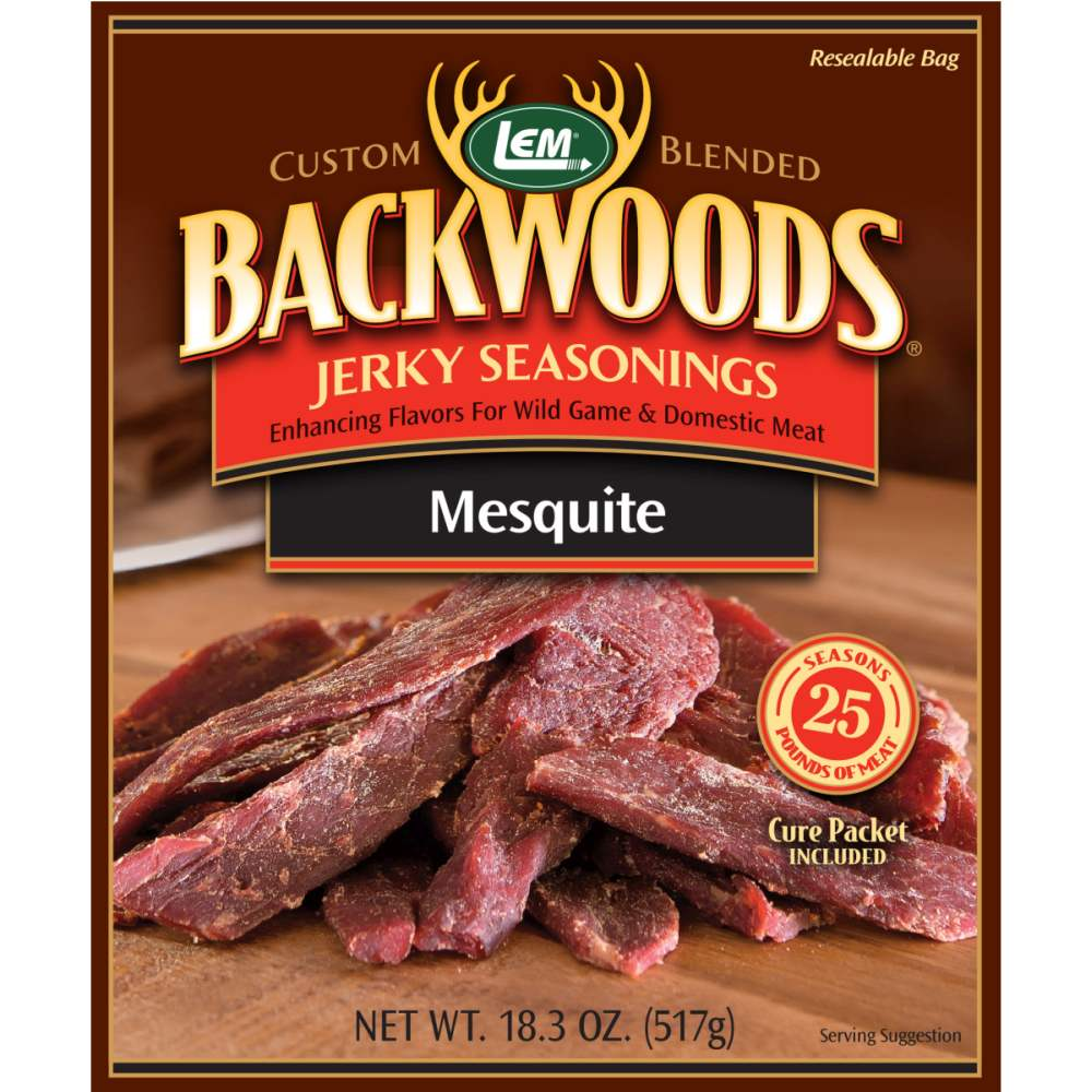 Backwoods Mesquite Jerky Seasoning - Makes 25 lbs.