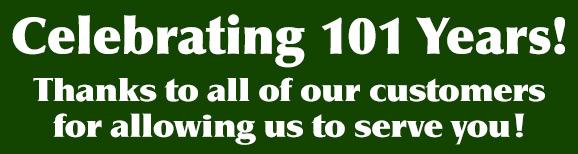 Celebrating 101 Years!