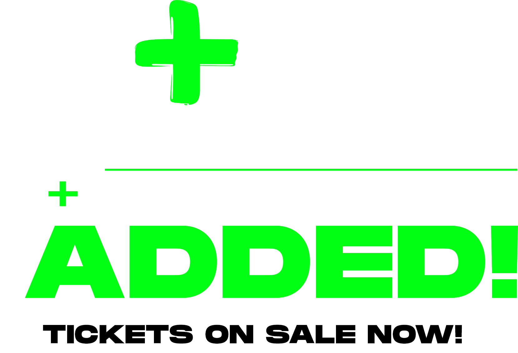 Dashboard Confessional + Scarypoolparty Added - Tickets on Sale Now!