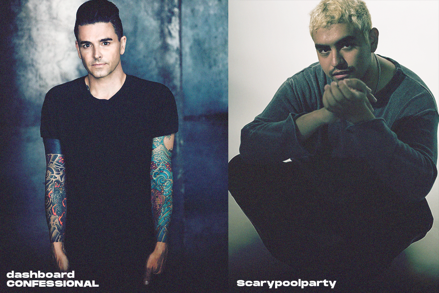 New Artist Announces - Dashboard Confessional & Scarypoolparty