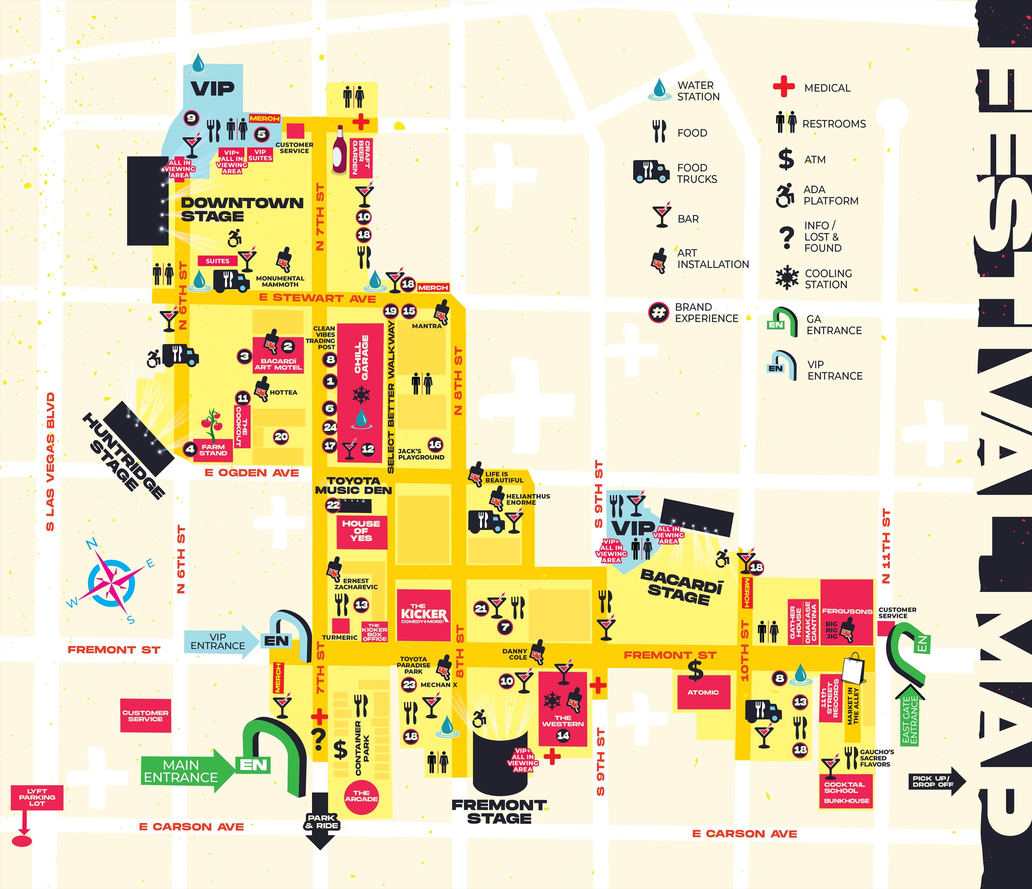 Info - LIFE IS BEAUTIFUL Music & Art Festival