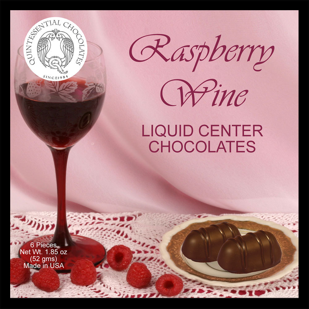 Raspberry Wine Filled Chocolates