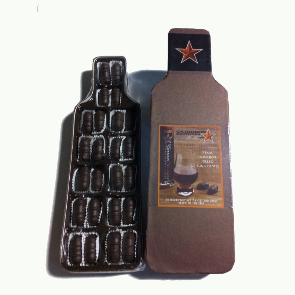 Garrison Brothers Straight Shooter Bourbon Filled Chocolate - PREMIUM