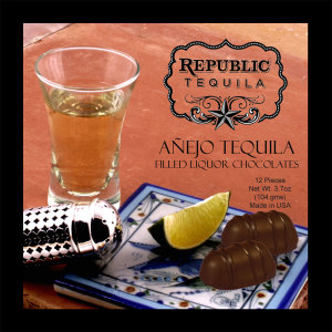 Republic Anejo Tequila - PREMIUM  12 Piece