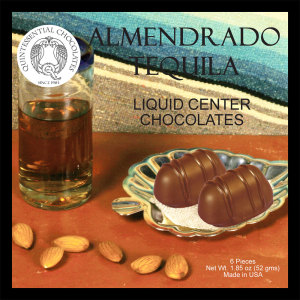 Almendrado Tequila Filled Chocolates - CLASSIC