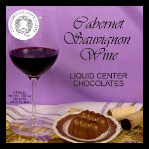 Cabernet Sauvignon Wine Filled Chocolates