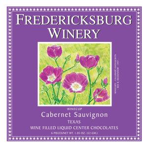 Fredericksburg Cabernet Sauvignon Wine Filled Chocolates