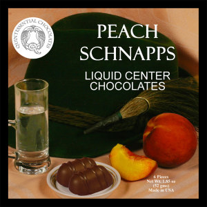 Peach Schnapps Filled Chocolates - CLASSIC