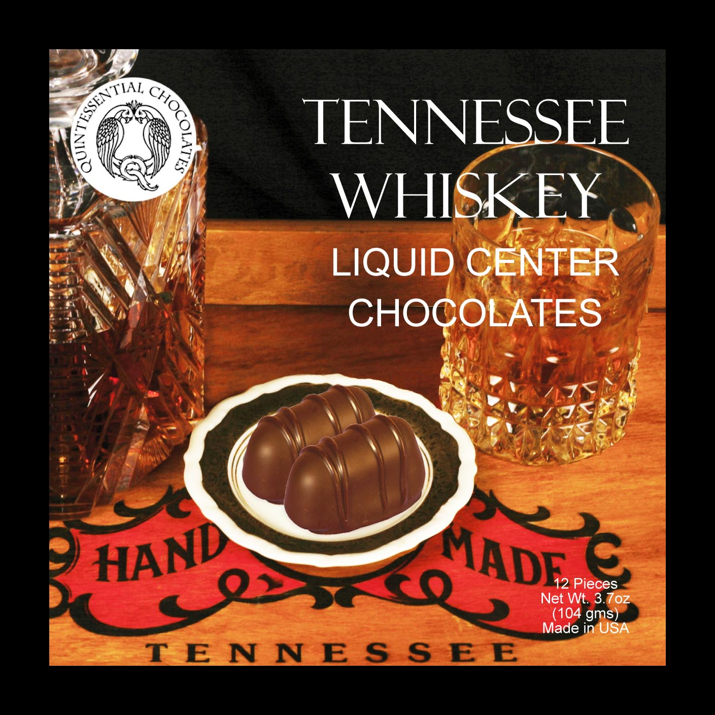 Tennessee Whiskey Filled Chocolates - CLASSIC