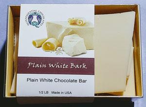 Plain White Chocolate Bark
