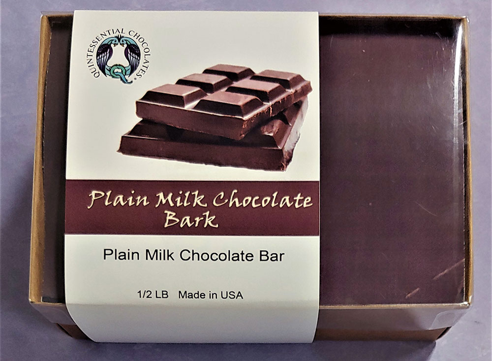 Plain Milk Chocolate Bark