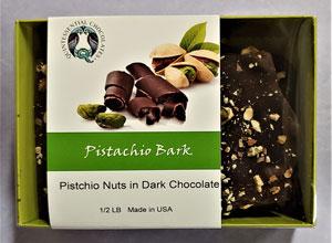 Pistachio Dark Chocolate Bark