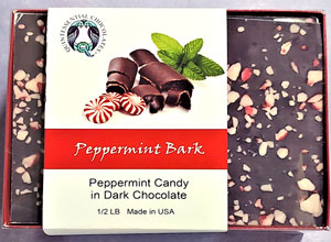 Peppermint Dark Chocolate Bark