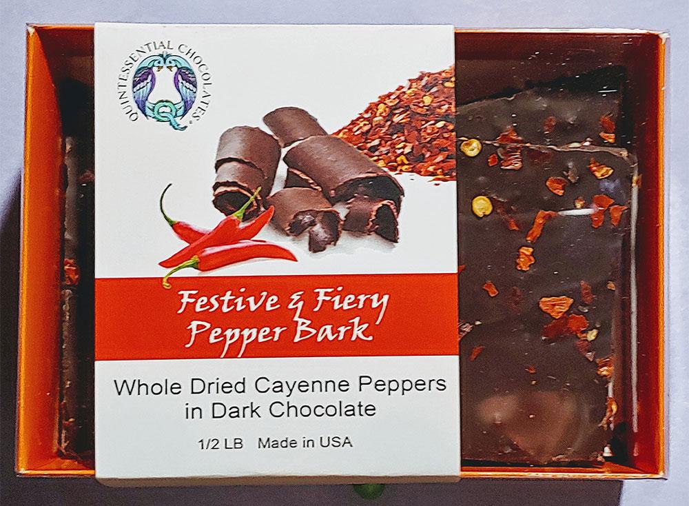Festive & Fiery Pepper Bark