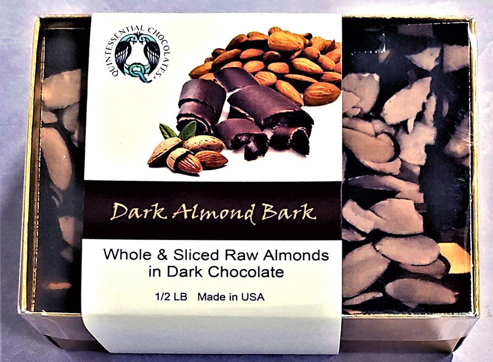 Almond Dark Chocolate Bark