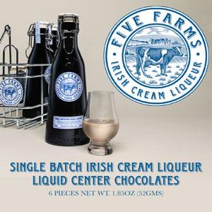 Five Farms Irish Cream Liqueur6 Piece