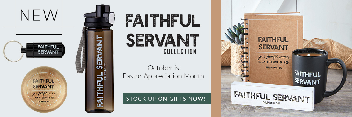 Living Grace Faithful Servant Banner