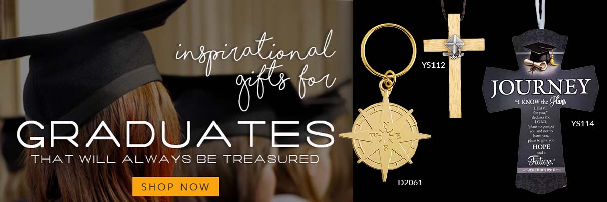 Shop our Graduation Gift selection and find a meaningful gift for that special graduate.
