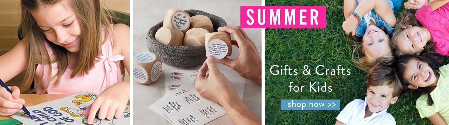 Summer Gifts & Crafts for Kids!