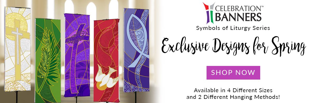 Liturgical Banners for Spring are Here!