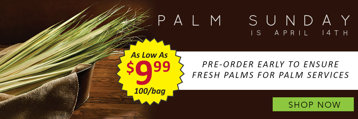 Living Grace Palm Sunday Sale