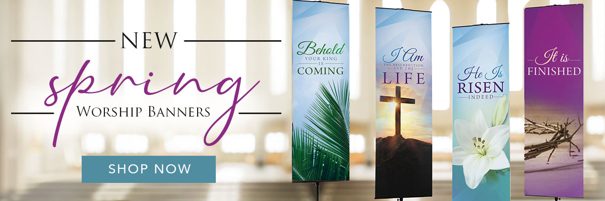 Living Grace Womens Clergy Banners