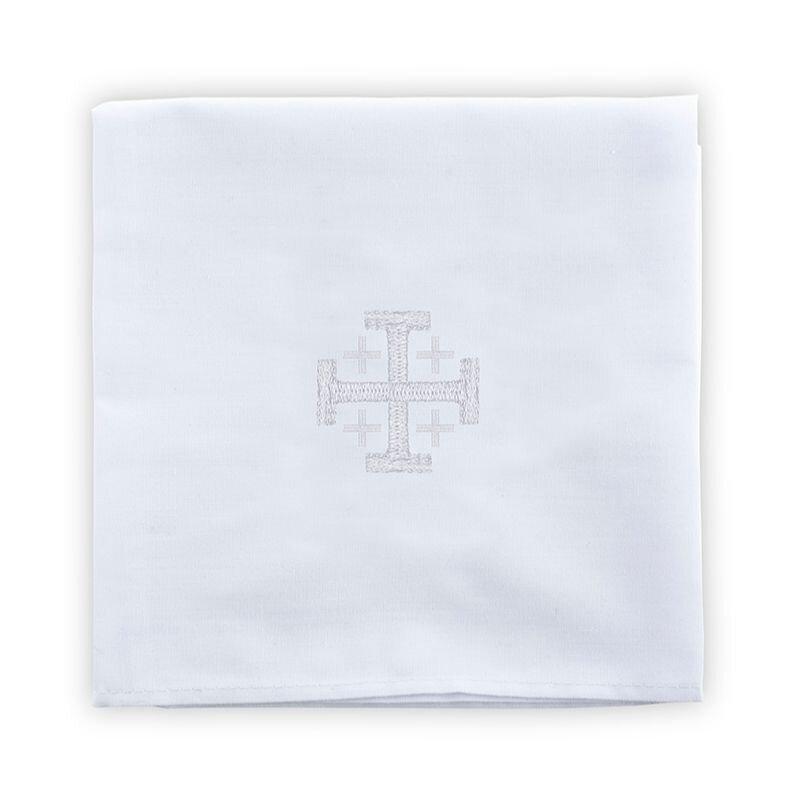 Poly/Cotton Blend Corporal with Jerusalem Cross - 4/pk